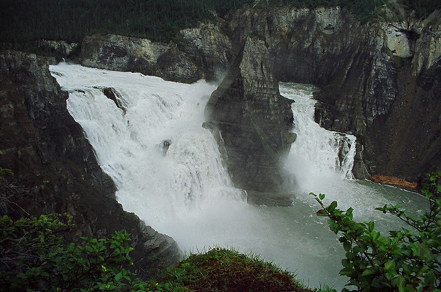 Virginia Falls, Nahanni National Park, Northwest Territories, Canada