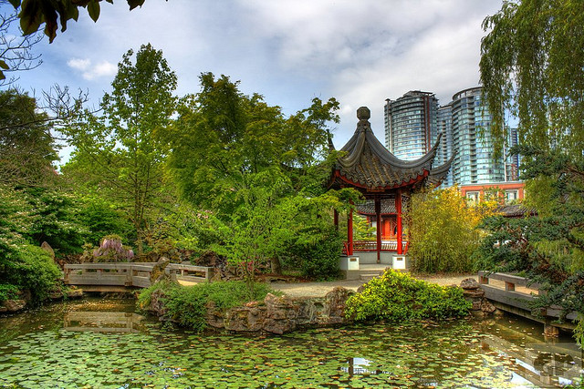 Chinatowm Garden in Vacouver