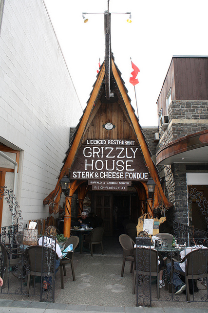 Grizzly House Banff Alberta