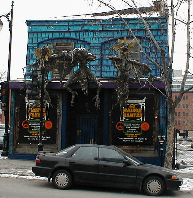 The Haunted House, Montreal (front)