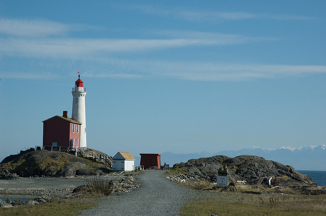 The Fort Rodd Hill & Fisgard Lighthouse