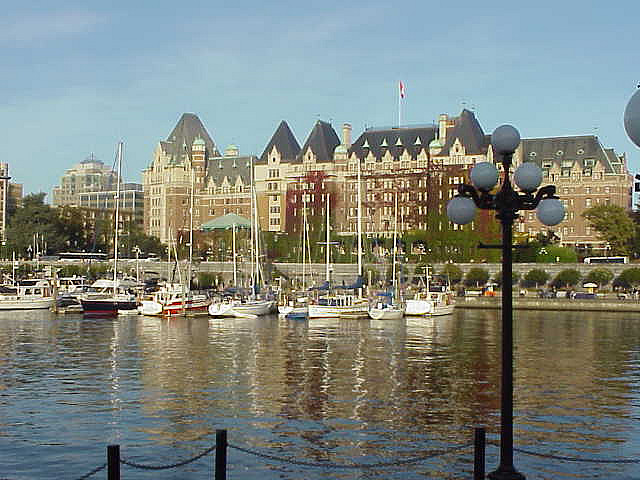 Parliament Building in Victoria British Columbia