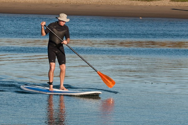 Stand Up Paddlesurfer, ©mikebaird/Flickr