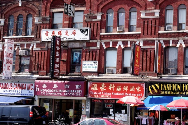 At Chinatown in Toronto, ©Johannes Martin/Flickr