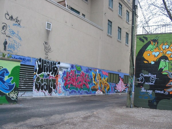 Graffiti Alley at Toronto, ©joelf/Flickr