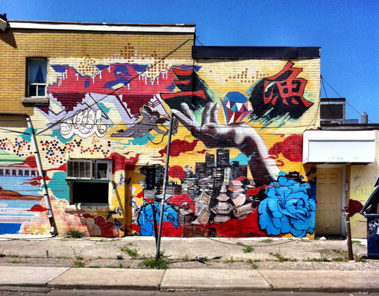 Graffiti near the  Kensington Market, ©lestgoeverywhere/Flickr