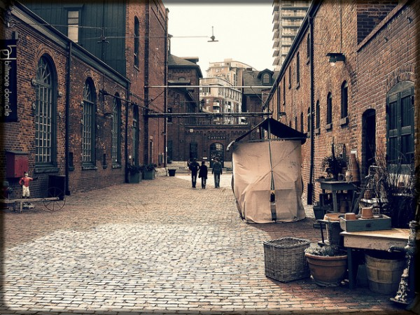 The Distillery Historic District at Toronto, ©Lim Pix/Flickr