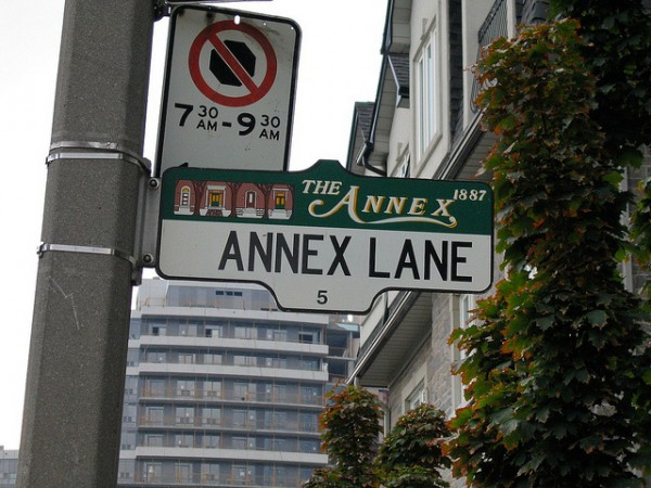 The Annex, ©rouilleralain/Flickr
