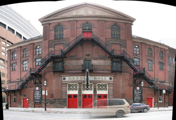 Massey Hall, ©Ian Muttoo/Flickr