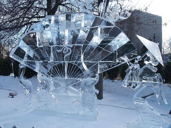 Ice Sculpture - Winterlude, ©Kasia/flickr/Flickr