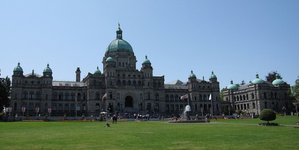 British Columbia Parliament, Victoria, ©InSapphoWeTrust/Flickr