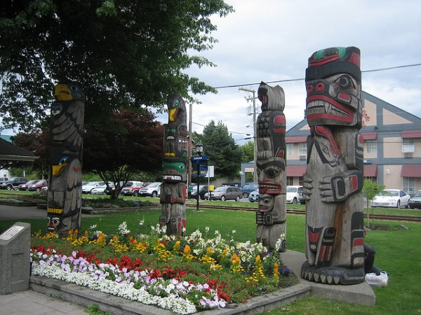 Duncan is the city of Totems, ©jodastephen/Flickr