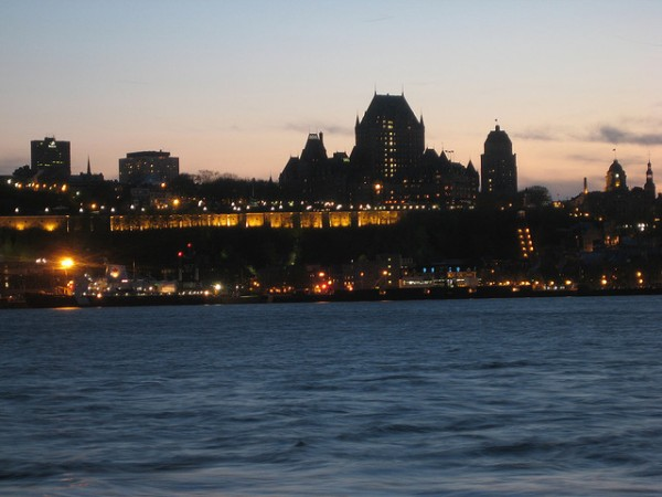 Québec City by nigh, ©elPadawan/Flickr