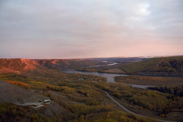 The Peace River near Fort St. John, ©tuchodi/Flickr