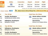 Alaska Airlines flight from Seattle to Bellingham from $180