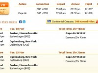 Cape Air flight from Boston to Ogdensburg from $178