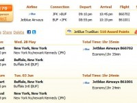 Jetblue Airways flight from New York to Buffalo from $170